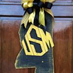 DIY Southern Miss Door Hanger