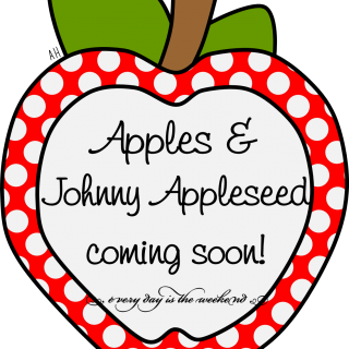 Apples & J Appleseed coming soon! l Every Day is the Weekend!