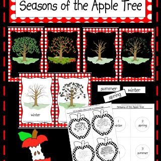 Seasons of the Apple Tree Printables & Activities