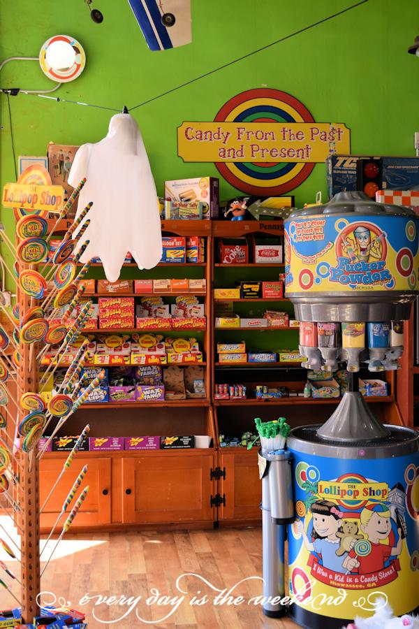 The Lollipop Shop l Destination: Jonesborough, TN