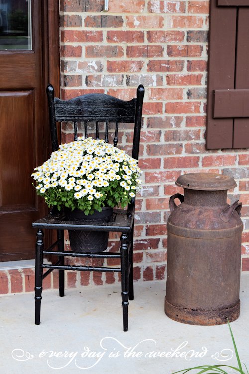 Southern Style Bunco estate chair
