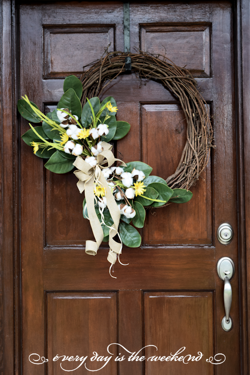 Southern Style Bunco wreath